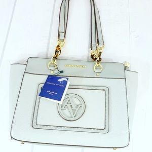 Adrienne Vittadini Tani Collection Satchel New